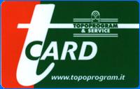 scheda tCARD Topoprogram