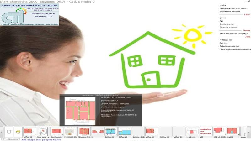 Energetika 2000 - Software di certificazione energetica