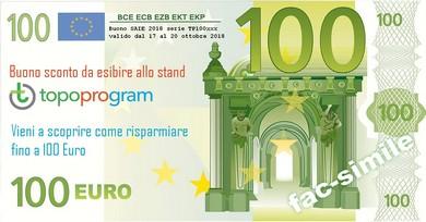Buono sconto 100euro Topoprogram SAIE2018