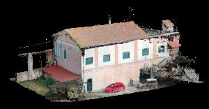 Casetta - laser scanner - Topoprogram