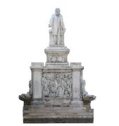 Statua monumento - laser scanner - Topoprogram